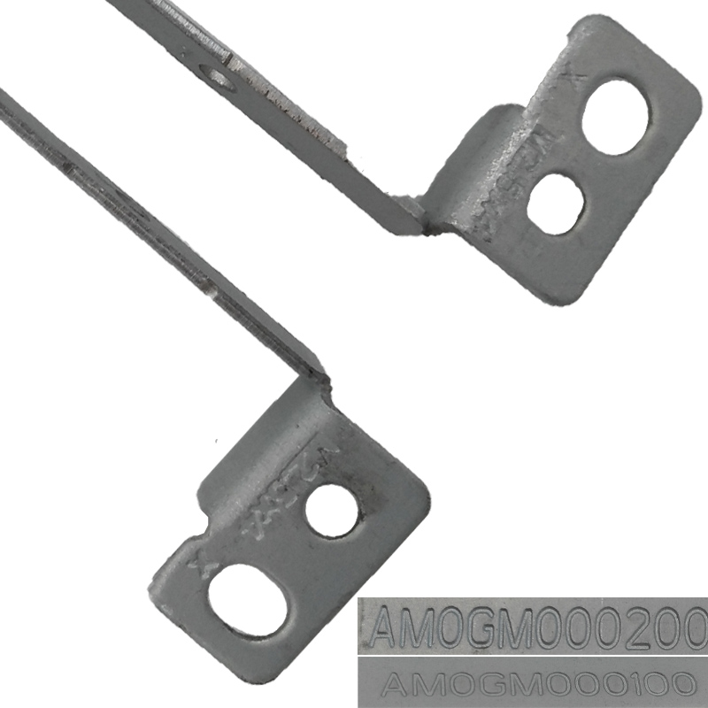 New Laptop Hinges for LENOVO G570 PN AM0G000100 AM0GM000200 Repair Original Notebook Left Right LCD Screen Hinges in LCD Hinges from Computer Office