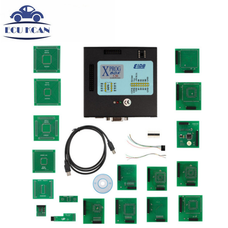 Цена за V5.50 X-PROG Box XPROG 5.5 X-PROG M ЭКЮ Программист XPROG-М Xprog М Программист Поддержка MCU