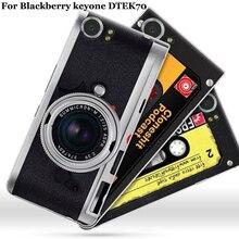 Para Blackberry Keyone funda vintage dibujos animados fundas de teléfono duras DTEK70 cubierta para Black berry Key one Keyone funda shell