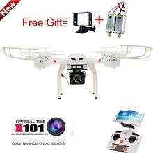 MJX X101 Professional Drones BIG Quadcopter wifi FPV Gimbal can Add C4015/C4018/C4016 720P HD Camera Real Time Camera Remote Con