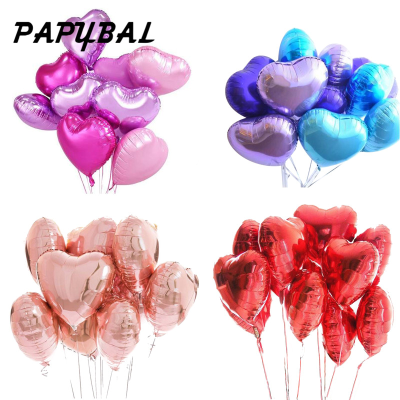 Ballons & Accessories Open-Minded Foil Balloon Party Wedding Birthday Party Decoration Kids Toys Air Balloons For Christmas Inflatable Balls For Holidays Festive & Party Supplies