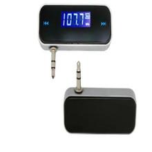 DIGITAL LCD 3.5MM earphone interface car mp3 player wireless fm transmissor fm modulator car fm transmitter free shipping цена 2017