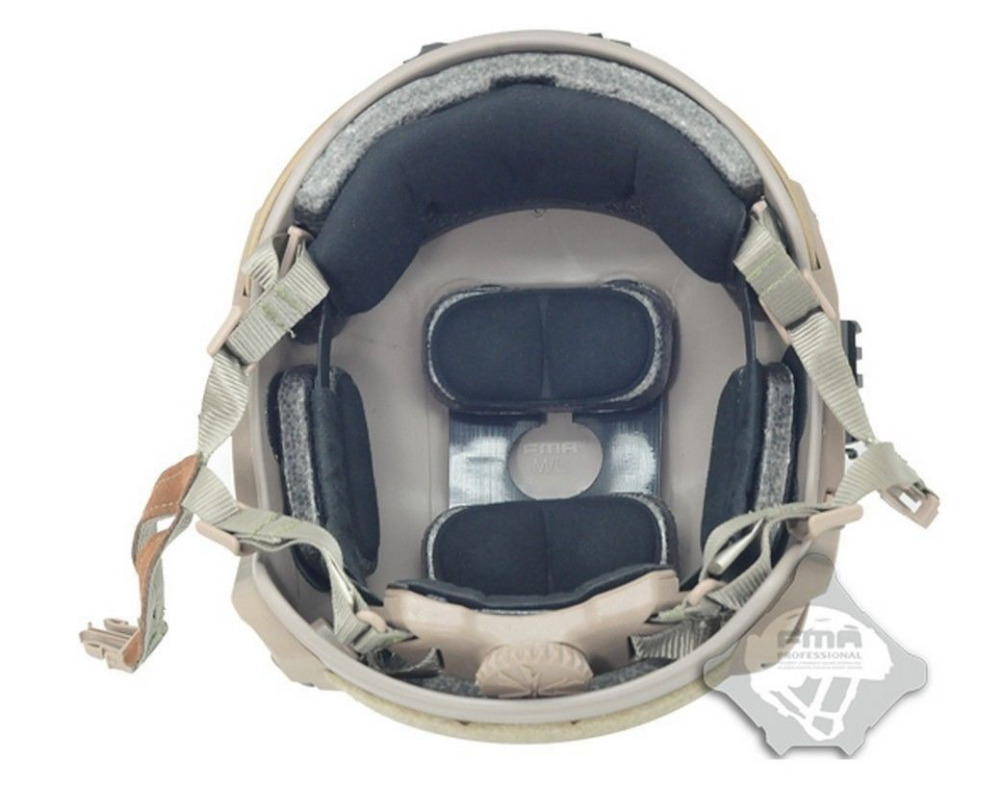 Taktiki dəbilqə Airsoft Paintball TB815 velosiped kaskası üçün - Komanda idman növləri - Fotoqrafiya 4