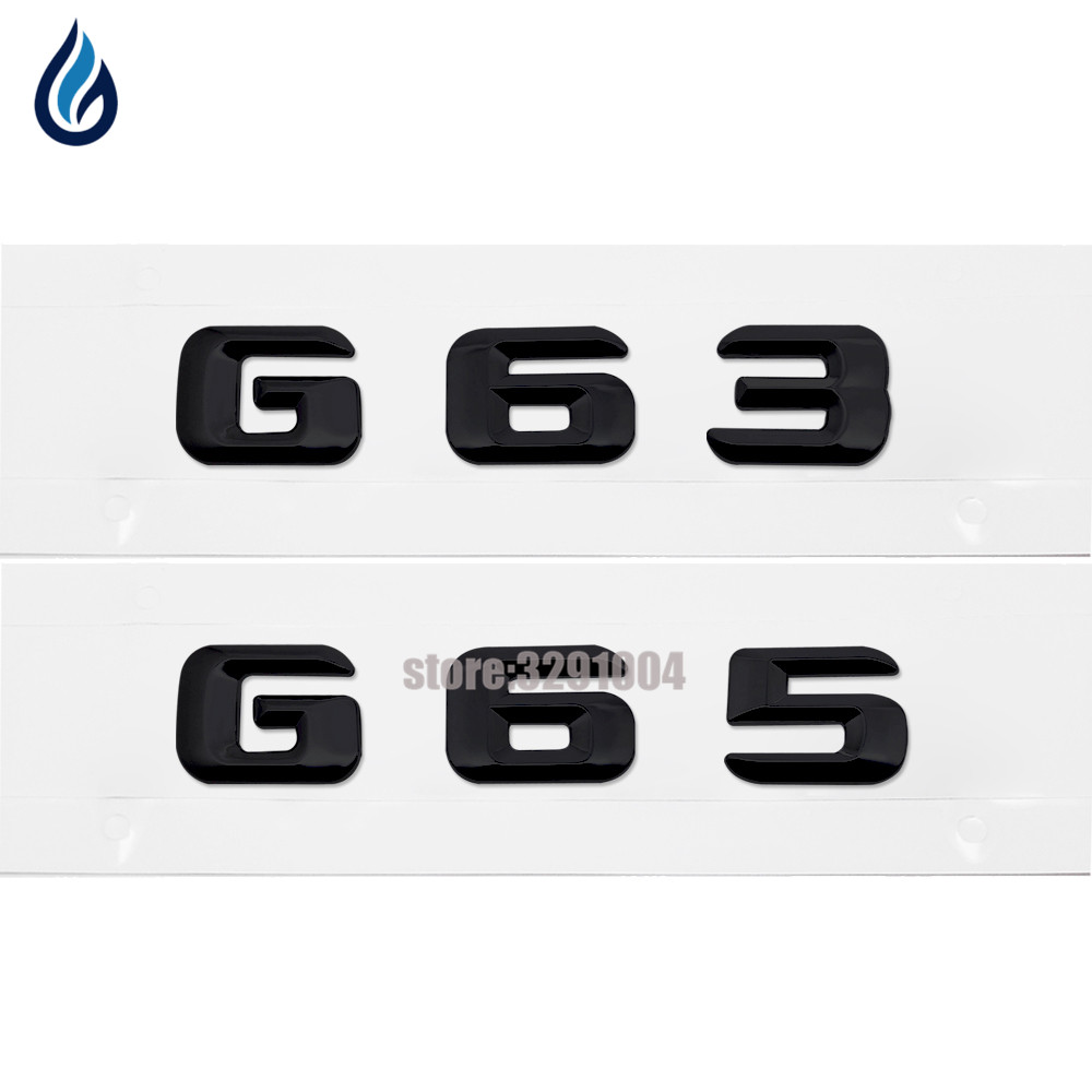 Car-styling Chrome Emblem Badge Decal Trunk Rear Letters for Mercedes Benz G Class G65 G63 AMG 4MATIC W460 W461 W463 car rear trunk security shield cargo cover for mercedes benz ml class w164 ml300 ml350 ml500 2006 2012 high qualit accessories