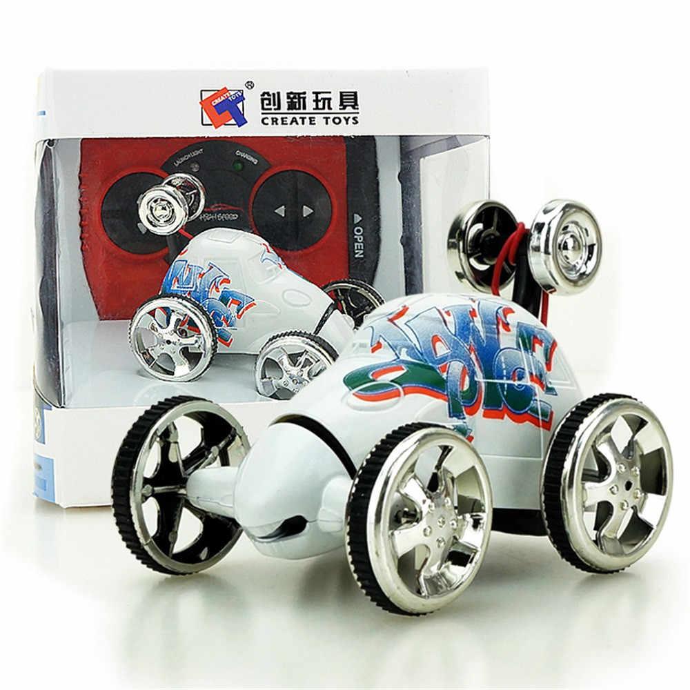 Шесть цветов Стиль дропшиппинг дистанционный самосвал мини 360 Вращение RC радио дистанционное управление гоночный трюк флип автомобиль игрушка Дети AG8 Oct25