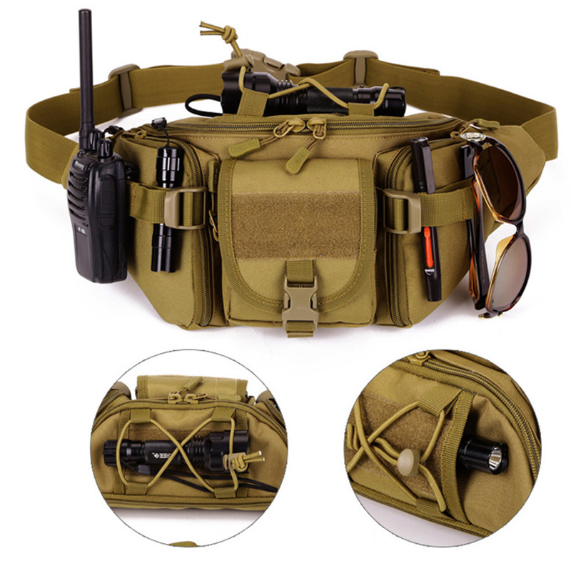 Marsupi wolf Impermeabile Per Outdoor Bag Più acu Marsupio Protettore Tattico d D Militare m C Arrampicata Sacchetto cp dsc Black Escursioni Belt Brown orange Hip wZFnpZqx