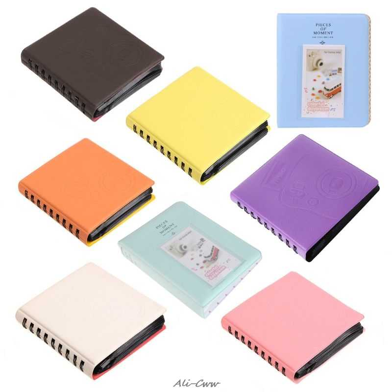 68 Pockets Mini Instant Polaroid Photo Album Picture Case Storage for Fujifilm Instax Mini Film 7s 8 Korea instax mini album