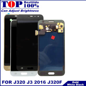 Lcd-Replacement Touch-Screen J320 Samsung Galaxy Digitizer-Assembly for with Brightness-Control