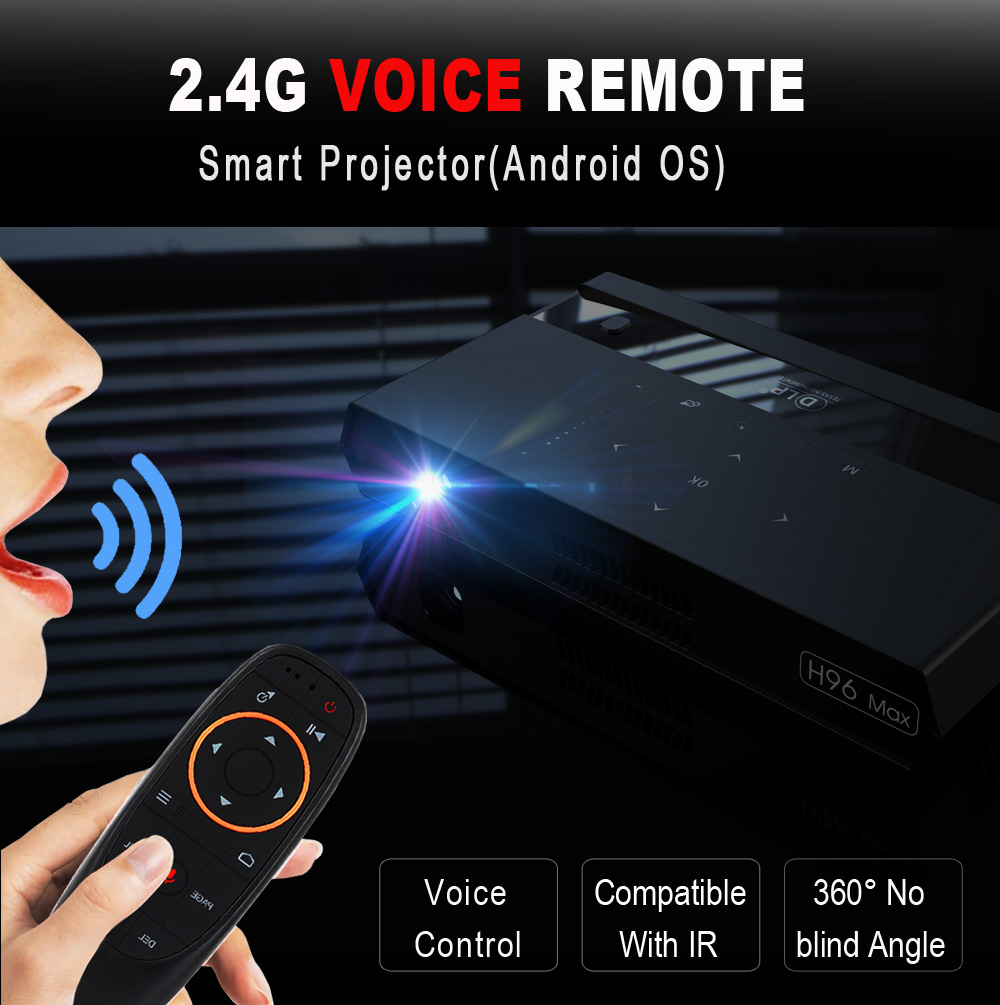 G Voice Air Mouse With   Ghz For Smart Tv Android Box