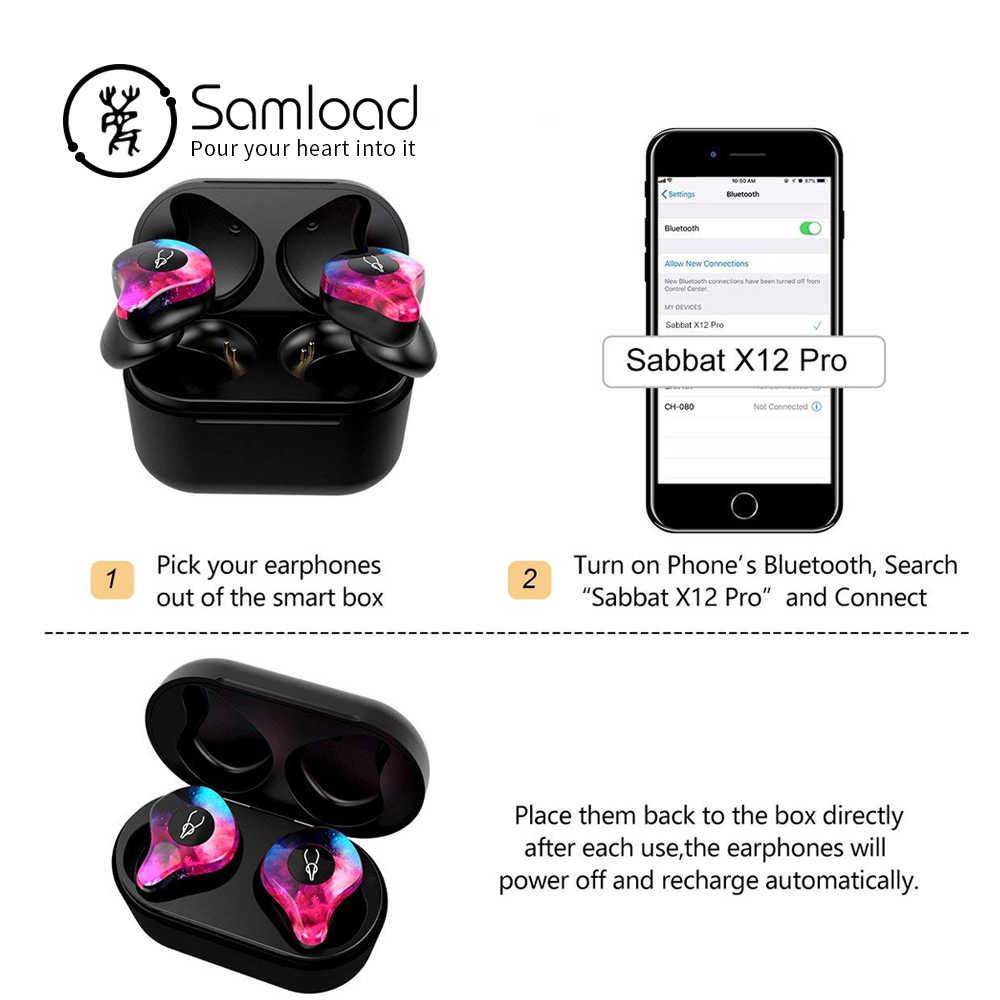 Samload Bluetooth 5.0 Tai Nghe Nhét Tai dành cho Nam & Nữ 3D Âm Thanh Rõ Nét Siêu Ghép Nối Không Dây tai nghe Thoải Mái Tích Hợp Mic tai nghe nhét tai
