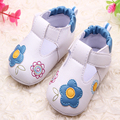 New Grils Boys Baby Shoe PU Leather Comfortable Shoe Breathable Slip Casual Fashion Princess Shoe Newborn First Walker Flats Kid