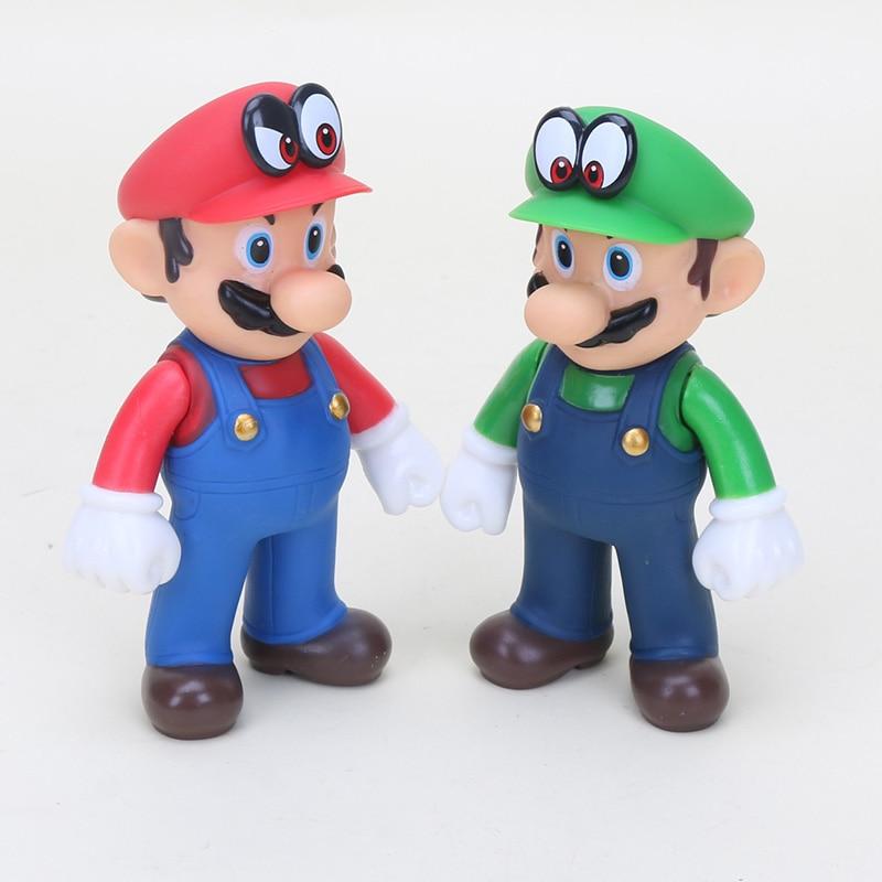 Super Mario Bros Action Figures 15cm 8