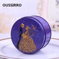 10PCS SET Europe Style High Quality Tin Box Multi Use Case Candy Or Tea Can Set