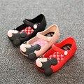 Mini SED Zapatos 2016 Verano de las muchachas Lindas Sandalias Niñas zapatos de Los Niños tamaño de los zapatos de Bebé Para La Muchacha EUR24-29 mini sed