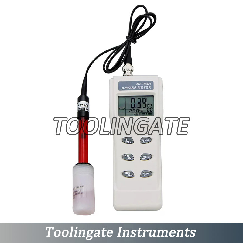 AZ8651 Handheld PH Meters digital ORP Test Pen for Water Quality Analyzer Oxidation Reduction Potentiometer in PH Meters from Tools