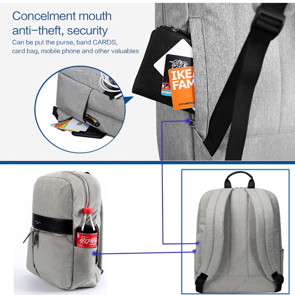 f2aeeda18 Laptop Backpacks For Teenage Girls 15 15.6 inch Notebook bags Computer Laptop  Backpack Waterproof Backpack Portfolio for Teens-in Laptop Bags & Cases  from ...