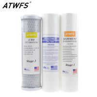 New 2014 10 Inch Water Purifier Filter 5 Micron PP Cotton Filter 1 Micron PP Filter