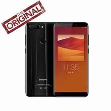 Lenovo K5 K350t Cep Telefonu 3 GB RAM 32 GB ROM MT6750 Octa çekirdekli Akıllı Telefon 5.7 ''HD + 18:9 Ekran Çift Arka Kamera 13M...