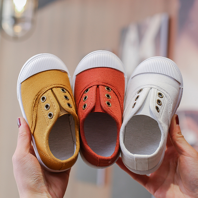 COZULMA 2019 Spring Summer Kids Shoes For Boys Girls Canvas Shoes Baby Boy Shoes Baby Girl Shoes Children Soft Bottom Sneakers
