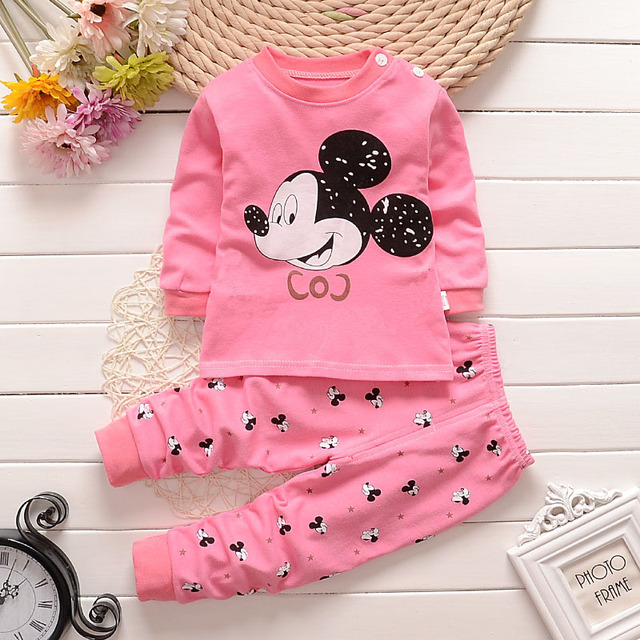096410f3b9f1e baby clothes 2018 new Cotton Baby Girls Clothes Winter Newborn Baby Clothes  Set 2PCS newborn Clothes