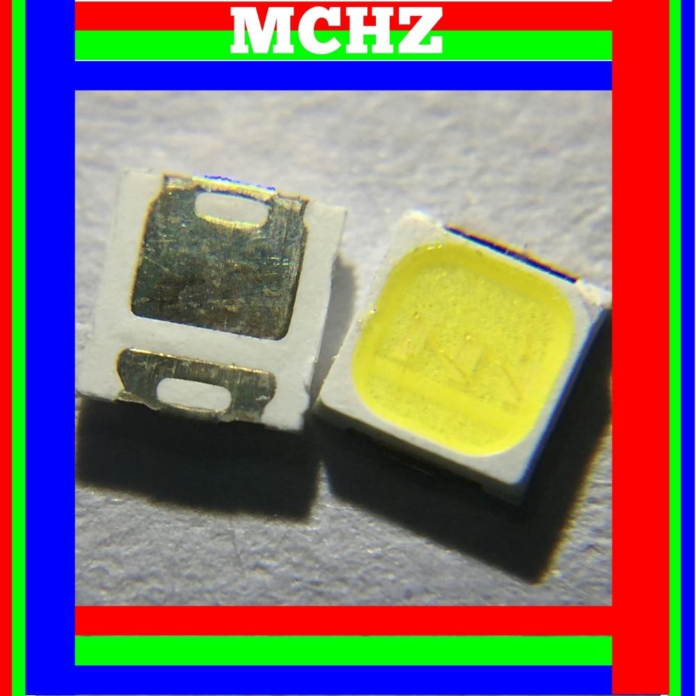 200 pièces 3030 SMD/SMT LED blanc 6000 K 3000 K 140LM SMD 3030 LED montage en saillie blanc 9 V ~ 9.6 V Ultra Birght diode LED puce 3030 6000 K