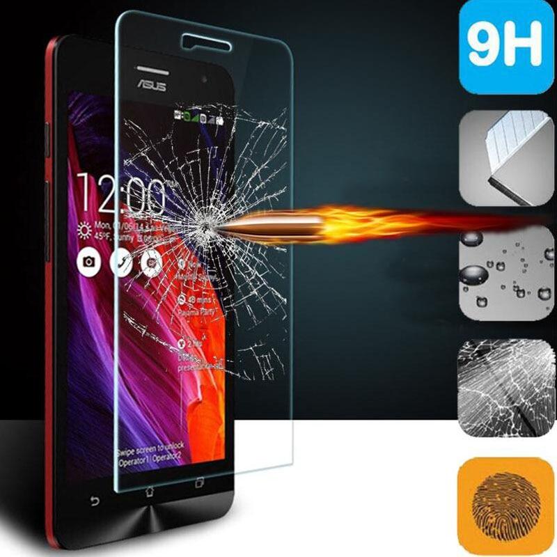 Alibusiness Store 0.3mm Tempered Glass For Asus Zenfone 2 Laser ZE550KL ZE601KL 4 5 6 Selfie Go ZC500TG ZB551KL Max ZC550KL Screen Protector Film