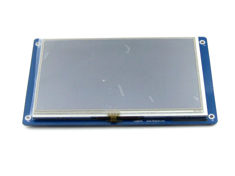 7inch Resistive Touch LCD 800*480 Multicolor Graphic LCD, TFT TTL screen LCM