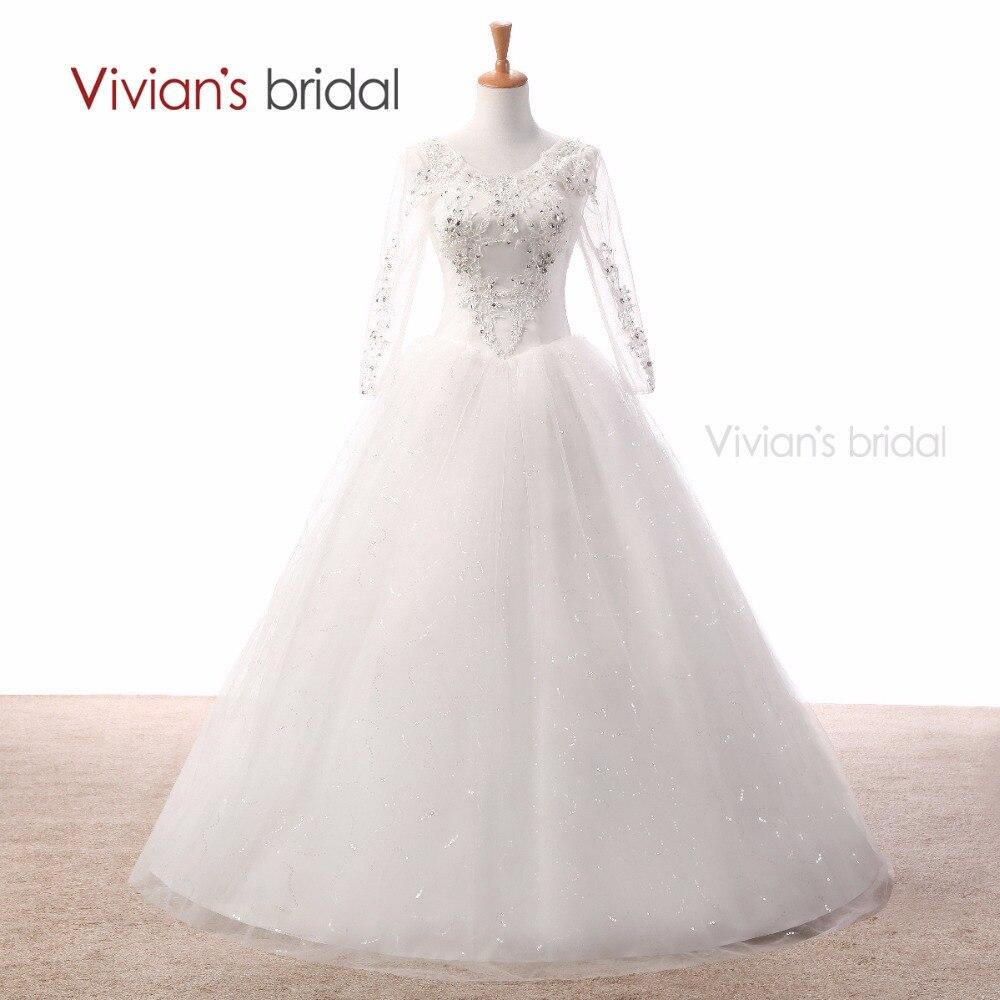 Aliexpress.com : Buy Vivian's Bridal White Wedding Dress