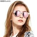 Kiki 2017 mulheres óculos polarizados óculos de condução óculos de sol da marca designer cat eye rodada marca designer gafas de sol mujer #6078