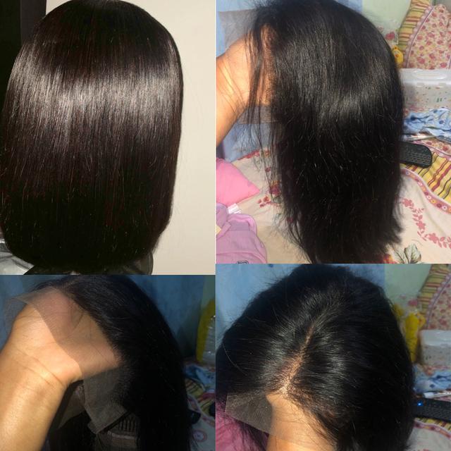 Peruvian Short Human Hair Wig