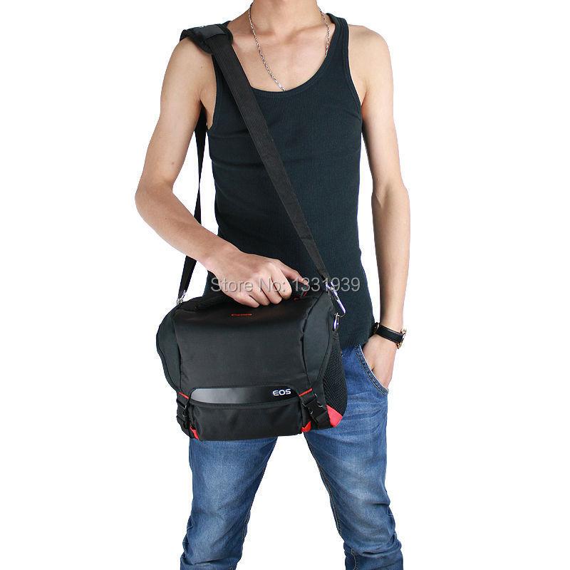 High Quality Economic DSLR Camera Case Bag for Nikon D600 D650 D700 D60 D70 with Strap