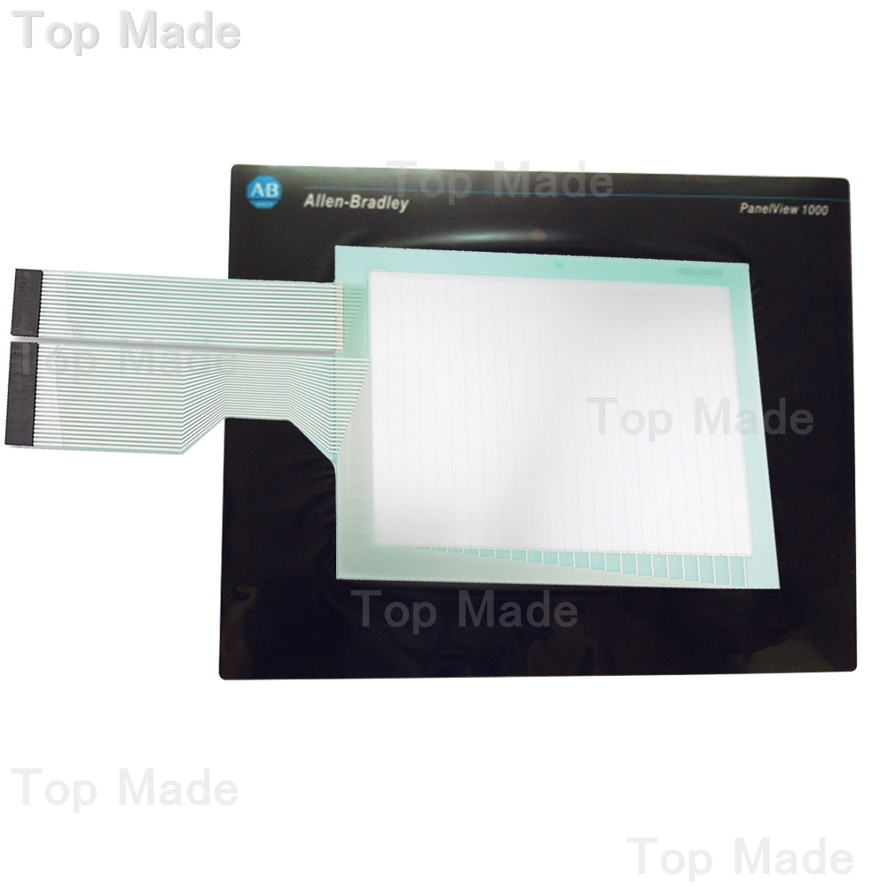Touch Screen for AB PanelView 1000 2711-T10G9 2711-T10G9L1 Panel + Protective Film 2711 t10g3 2711 t10g3l1 panelview 1000 touch glass panel