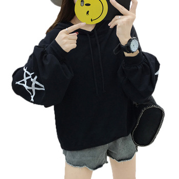 Women Hoodies Hip Hop Headwear Sweatshirt Hoodie Us size M-XXL