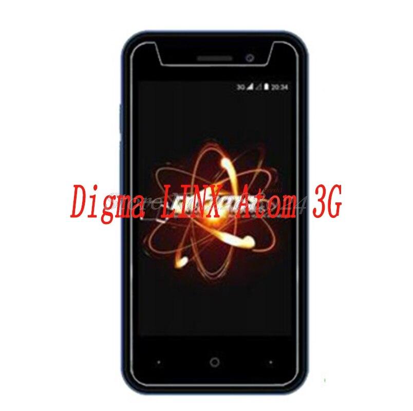 Купить Шт. 2 шт. смартфон закаленное стекло 9h взрывозащищенные Защитная пленка экран протектор мобильного телефона для Digma LINX Atom 3G на Алиэкспресс