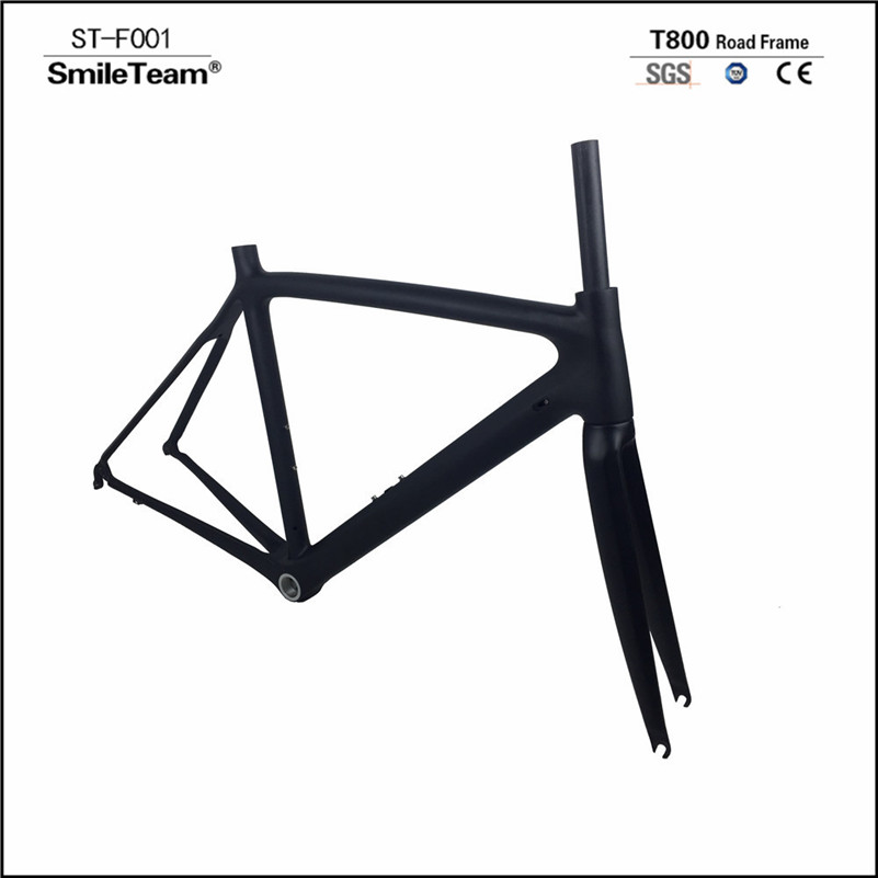 2018 New Carbon Road Frame Bike Racing Carbon Frames T1000 Cycling Bicycle Road Framesets Chinese Carbon Frames In Stock t700 full carbon road bicycle frame bb386 road bike 3k weave 54cm in stock 3 days delivery