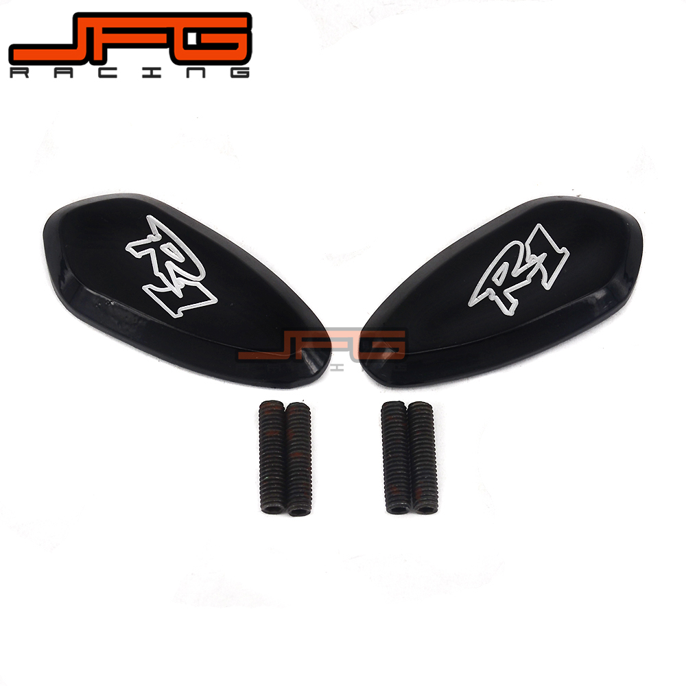 Motorcycle Mirror Base Plates For YAMAHA YZFR1 YZF-R1 YZF R1 2000 2001 2002 2003 2004 2005 2006 2007 2008 2009 2010 2011 -2014