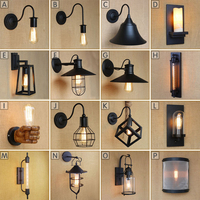 vusum European and American style loft wall lamp warehouse industrial living room garden aisle bedside bar decorative wall lamp