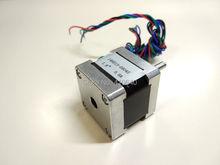 Фотография stepper motor 14HS13-0804S L34mm Nema14 with 1.8deg 0.8 A  18 N.cm with bipolar 4 lead wires