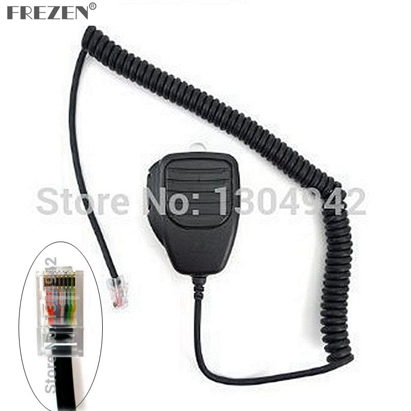 8 Pin Handheld Remote Speaker Mic Microphone For ICom Radio IC-706 IC-2000/H IC-F1721 IC-7000 IC-V8000 IC-FR3000 IC-FR4000