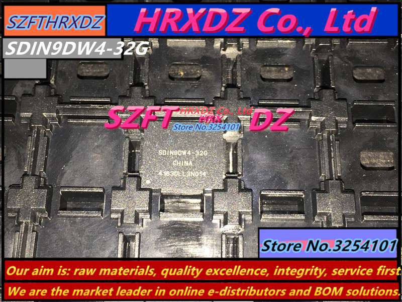 SZFTHRXDZ       100% new original SDIN9DW4-32G BGA 32G айфон 4 32g в билайне по акции