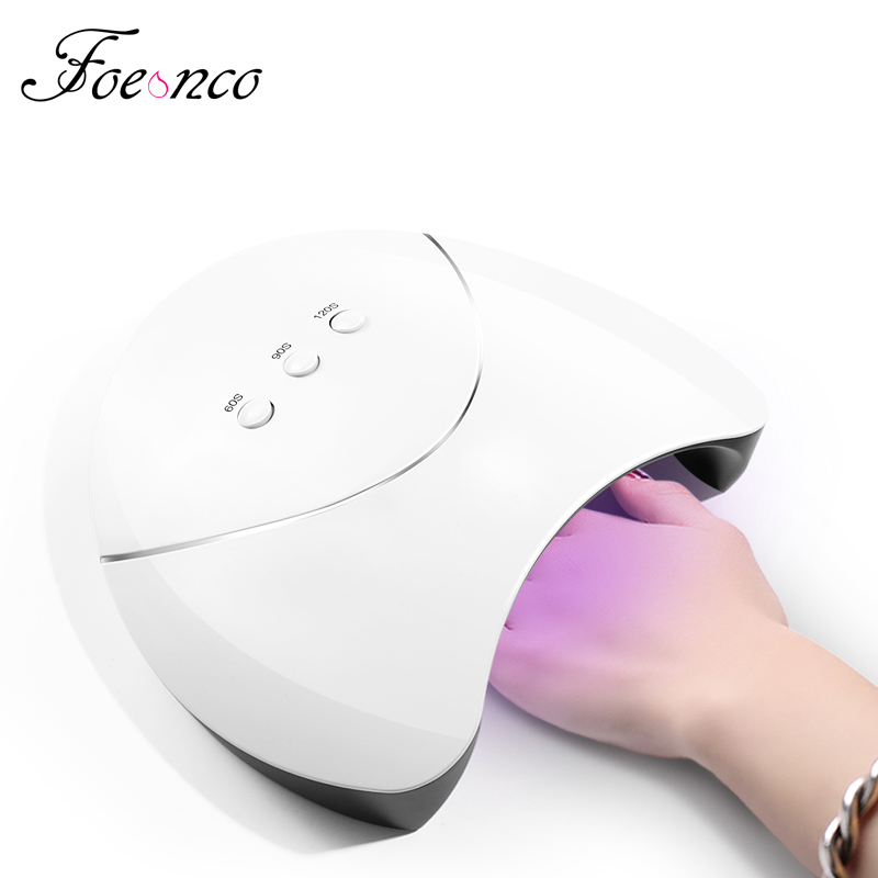 FOEONCO 36W UV Lamp LED Lamps Nail dryer Double Power Nail Lamps for Nail UV Gels Polish USB Charge Nail Art Tools