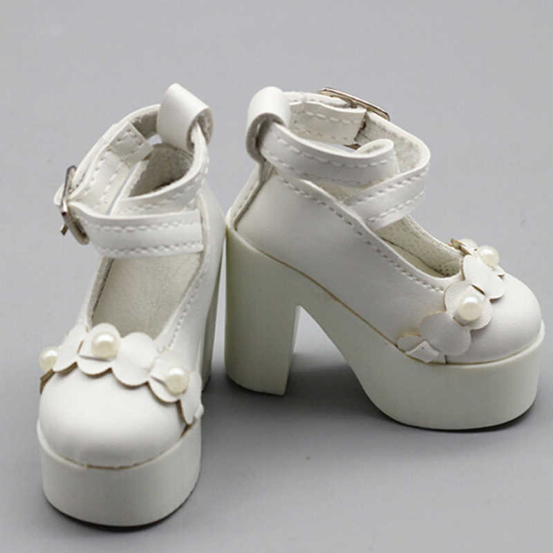 f6c713dac44 1 pair High heels Fashion doll shoes for 1/3 60cm BJD dolls dress  accessories Best gift for childrens' toy