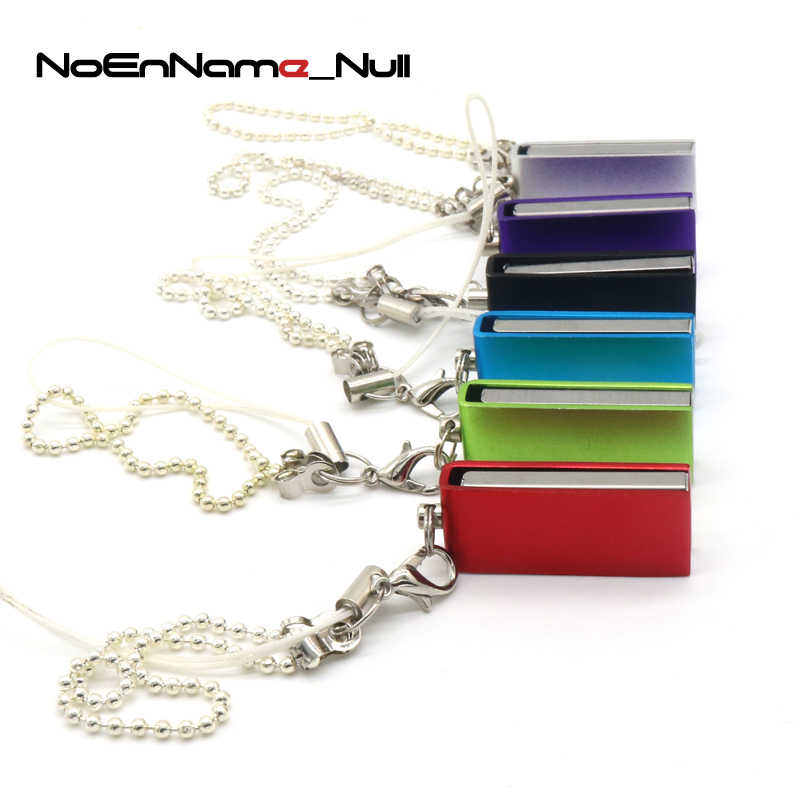 Noenname Colorful Usb Flash Drive Fashion Tiny Pen Drive 64GB 32GB 16GB 8GB 4GB Stainless Waterproof Memory Stick Pendrive