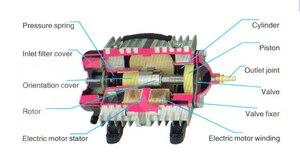 Image 3 - 450L/min 520W SUNSUN ACO 016 ACO016 Elektromagnetische Luft Kompressor luftpumpe für aquarium aquarium aquakultur