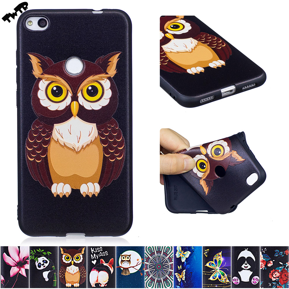3D Soft Silicone Case for <font><b>Huawei</b></font> P 8 P8 Lite P8Lite 2017 <font><b>PRA</b></font>-<font><b>LX1</b></font> <font><b>PRA</b></font>-LA1 Phone Fitted Case for <font><b>Huawei</b></font> <font><b>PRA</b></font> <font><b>LX1</b></font> TPU Frame Cover image