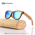 Zebra Wood Sunglasses Men Bamboo Sun glasses Polarized Brand Designer Mirror Original Wood Sunglasses Oculos de sol masculino