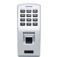 Metal Fingerprint Access Control Password Door Access Control Stand-alone Wiegand Reader