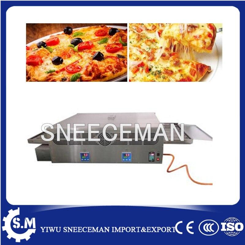 Cuisinière à gaz industrielle commerciale convoyeur de cuisson four grille-pain à Pizza