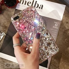 Bling crystal Diamond fox capa funda Coque Case For Samsung galaxy J1 J2 J3 J5 J7 2016 2015 J320 J510 J710 J700 J500 J120 CASE