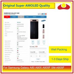 """Image 3 - Originale 6.7 """"Per Samsung Galaxy A80 A805 A90 A905 A805F SM 805F Display LCD Con Pannello Touch Screen Digitizer Pantalla completo"""